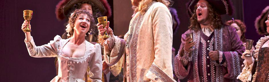 As Dalinda in Handel's Ariodante