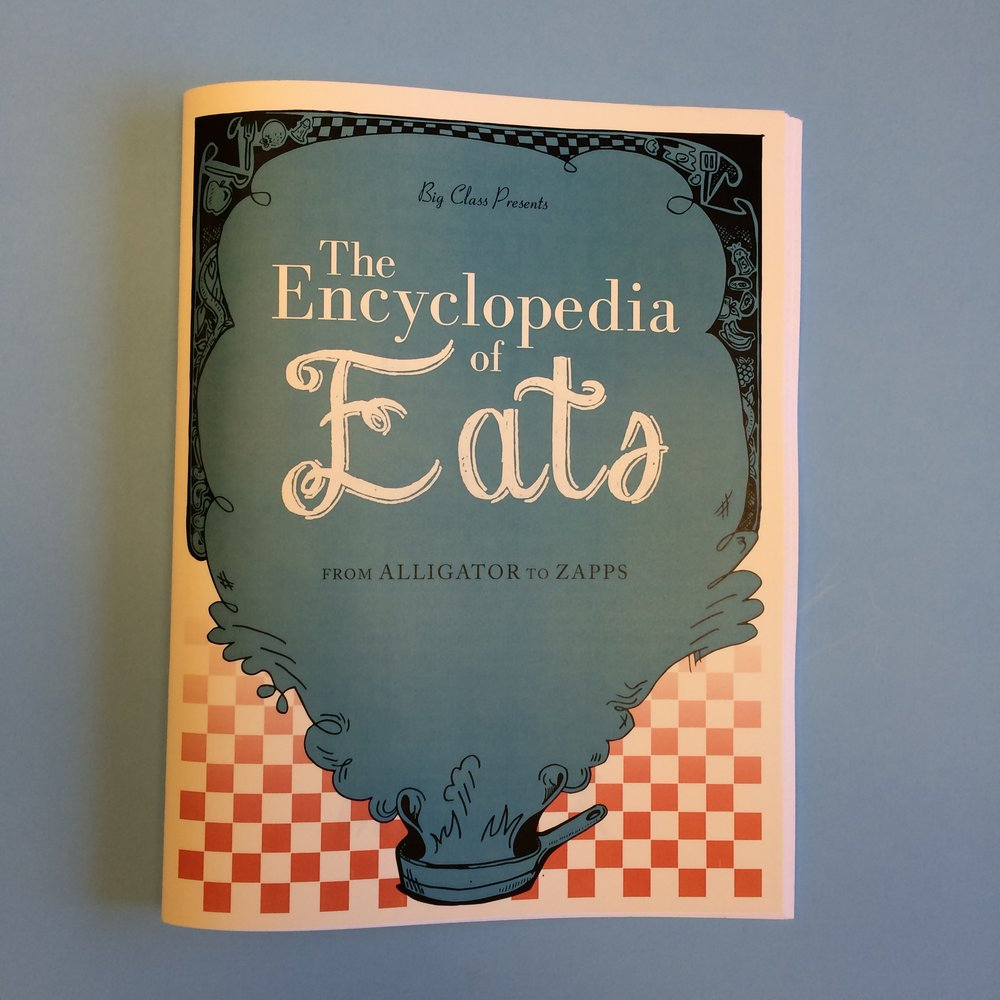 The encyclopedia of eats was created during a 2014 Big Class Workshop at the New Orleans Southern Food and Beverage Museum. Students present an ode to their favorite and most nostalgic foods of New Orleans. From tantalizingly tasty sweet treats to humble everyday dishes, there's something for everyone in this special encyclopedia.