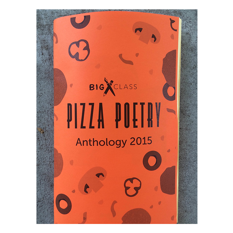 The Pizza Poetry Anthology 2015 includes over 50 of the best poems submitted to Big Class's Second Annual Pizza Poetry Project, along with photographs and behind-the-scenes interviews with many of the wonderful people behind the Pizza Poetry Project.