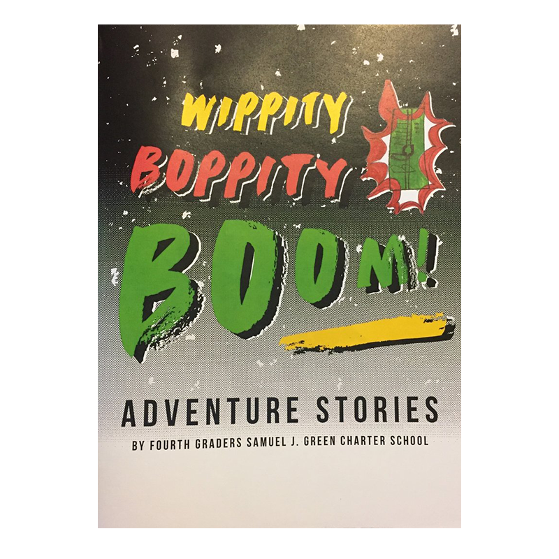 This books is a collection of adventure stories written by the fourth grade students at Samuel J. Green Charter School, who learned adventure stories as a tool to master the art of storytelling. Delve into the minds of curious and daring students with random portals, mysterious purple mist, and wacky camping trips.