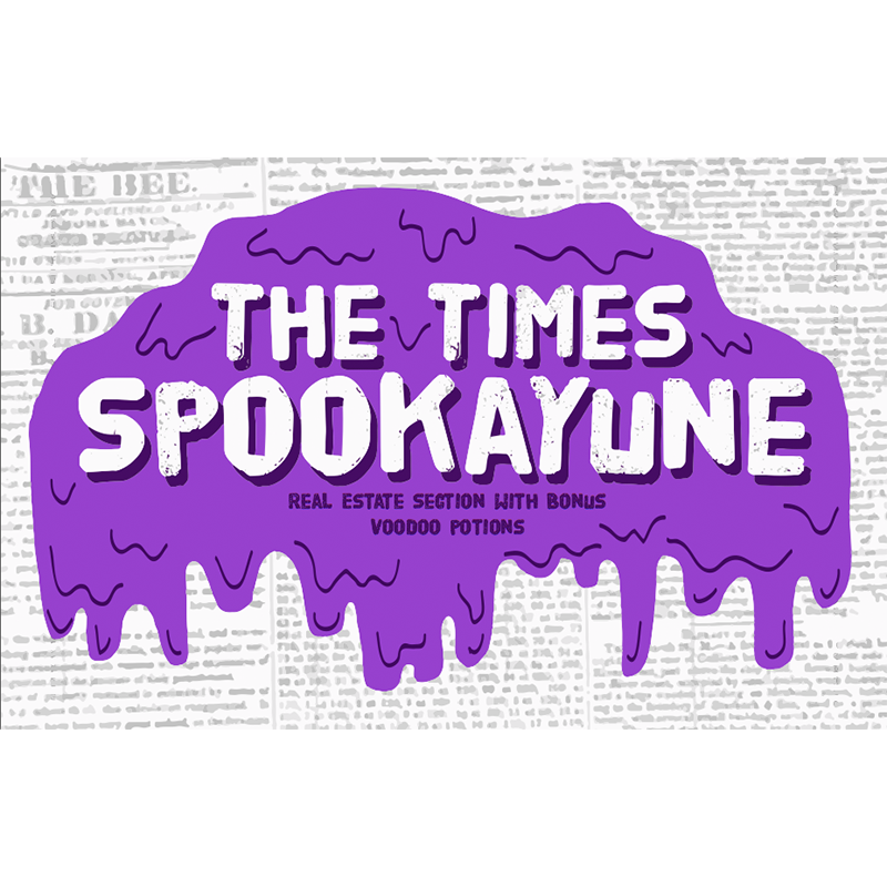 In April and May of 2014, the 4th grade writers at Sylvanie Williams College Prep crafted these zombie tales and the haunted real estate ads and voodoo potions for  The Times Spookayune , with help from Big Class volunteers.