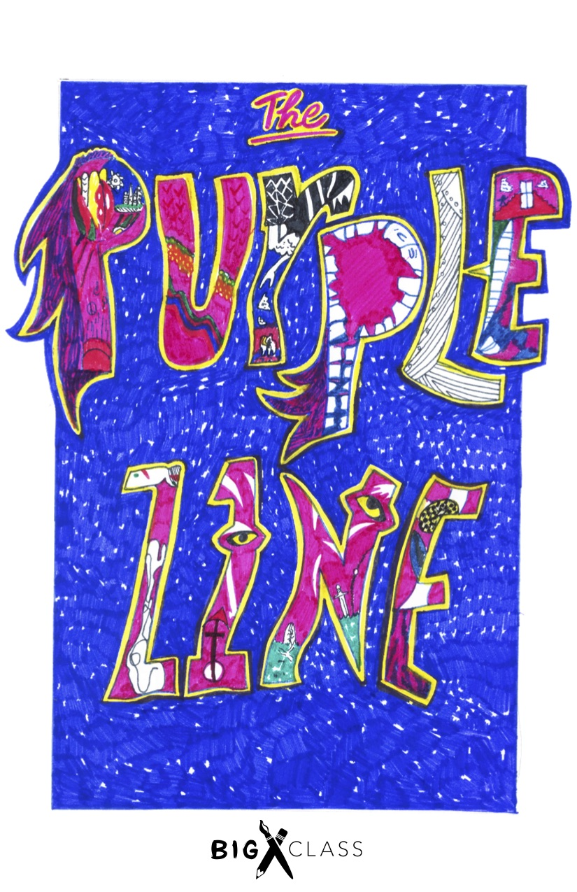 The first-ever Purple Zine is born! - Writers' Room students and DJ Soul Sister discussed the prolific artist and listened to his music on vinyl before writing.Students wrote acrostics, free-verse poems, and collections of questions for Prince.Purple PainCan't reign on Prince's game Ain't it a shameThat they put dirt on his name After his claim to fame They try to disdain his legacy He's a purple Pegasus pleasantry.—Chasity