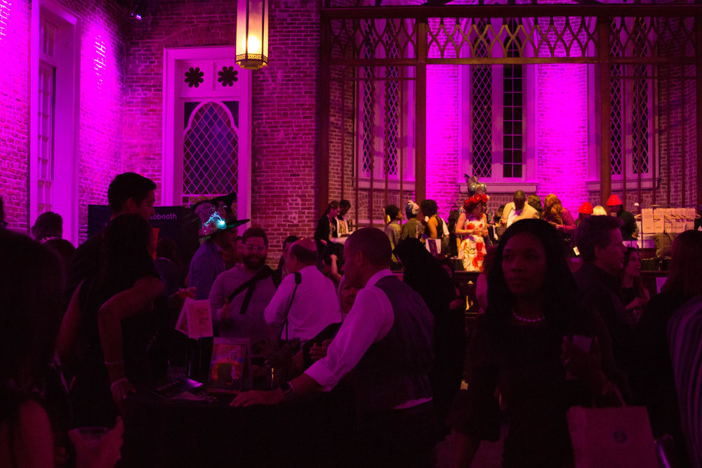 Led by our host DJ Soul Sister, - we danced the monster mash to tunes by DJ RQ Away,sipped beet-infused spirits from cocktail contest-crowd favorite Scott Hicks (representing 21st Amendment at La Louisiane),and celebrated the release of Big Class's latest publication: a collection of spooky stories written by New Orleanian youth entitled Something Ain't Right.