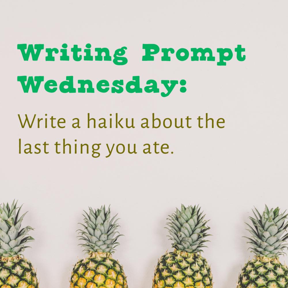 Writing Prompt Wednesday: Haiku