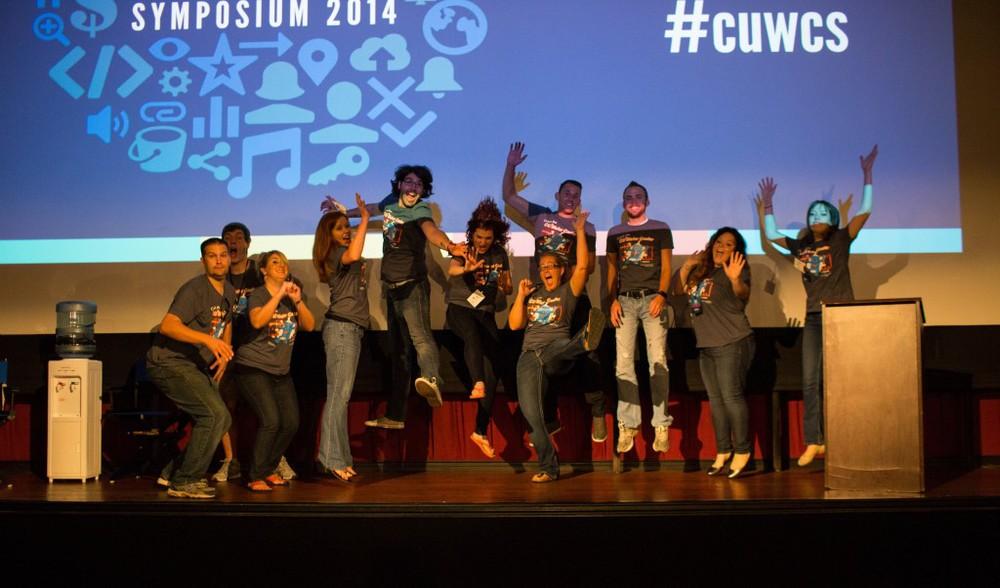 "2014 CU Watercooler Symposium in Austin, Texas got ""crashed."""