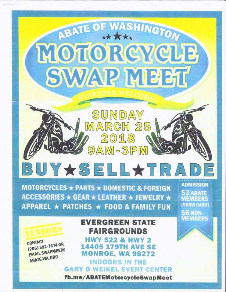 2018 Abate Spring Swap Meet