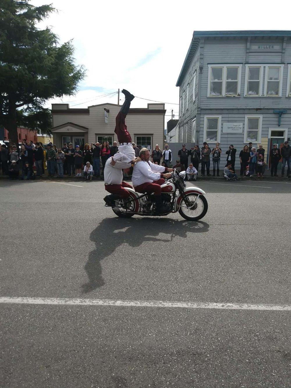 Seattle Cossacks Motorcycle Stunt & Drill Team
