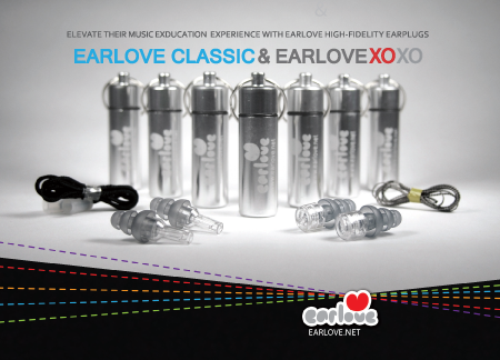 Professional quality earplugs for school music programs