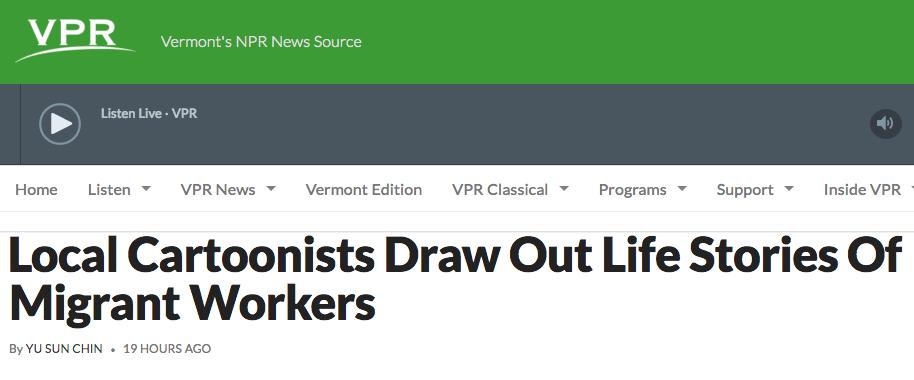 Vermont Public Radio,April 12, 2016