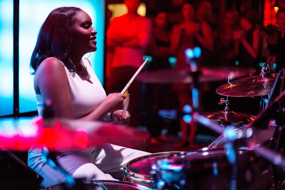 Glorious, Livetronica Drummer Pop-R&B Singer, Live at Sullivan Room, New York City 10.jpg