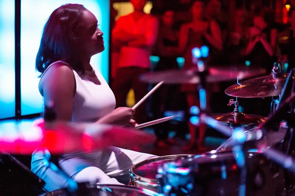 Glorious, Livetronica Drummer Pop-R&B Singer, Live at Sullivan Room, New York City 9.jpg