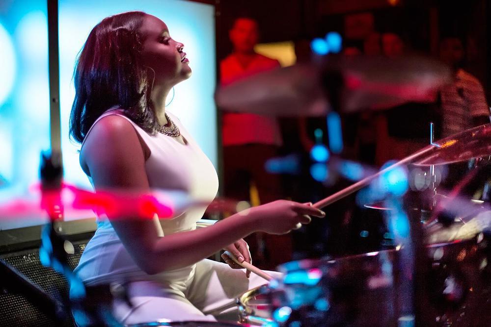 Glorious, Livetronica Drummer Pop-R&B Singer, Live at Sullivan Room, New York City 13.jpg
