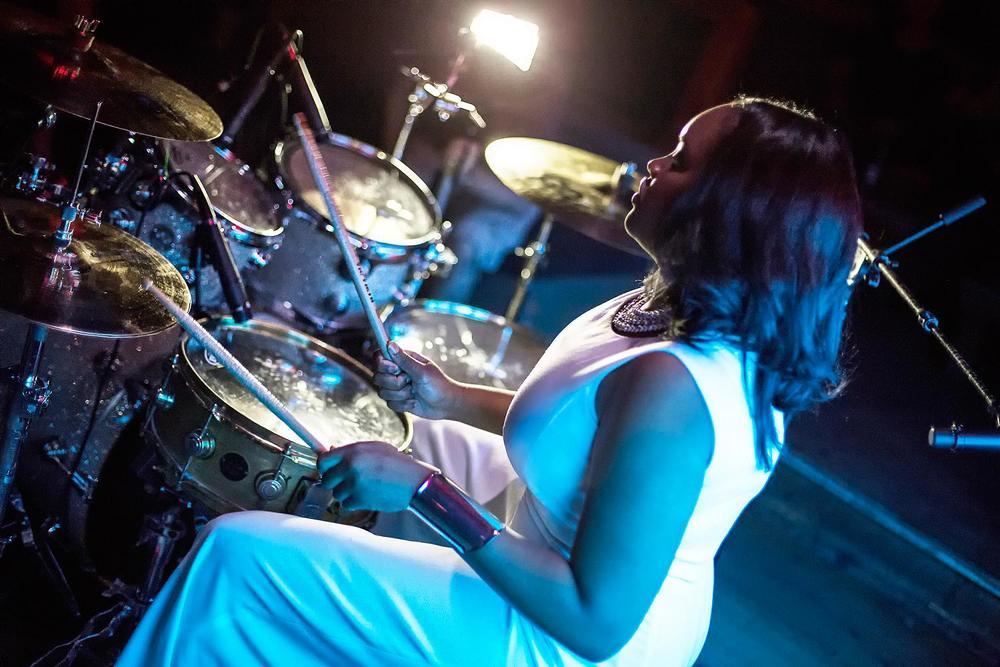 Glorious, Livetronica Drummer Pop-R&B Vocalist, Live at Sullivan Room, New York City 23.jpg