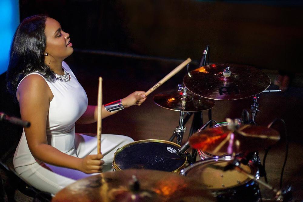 Glorious, Livetronica Drummer Pop-R&B Vocalist, Live at Sullivan Room, New York City 25.jpg