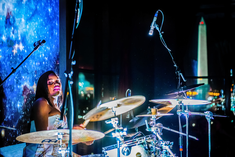 Glorious, Livetronica Drummer, Pop-R&B Singer, Producer, Live at W Washington, POV.jpg