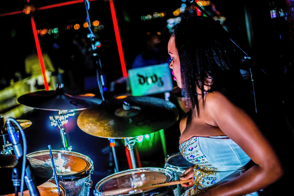 Glorious, Livetronica Drummer, Pop-R&B Singer, Producer, Live at W Washington, POV 44.jpg
