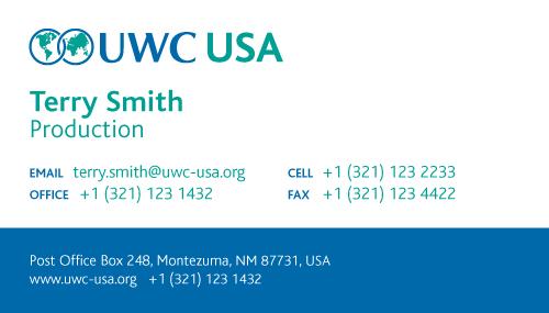 Uwc usa current wollner design uwc usa business cards colourmoves