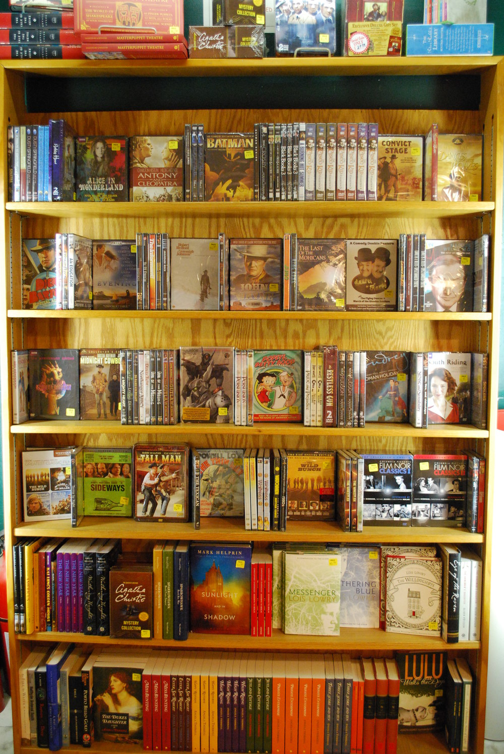 sale dvds and fiction
