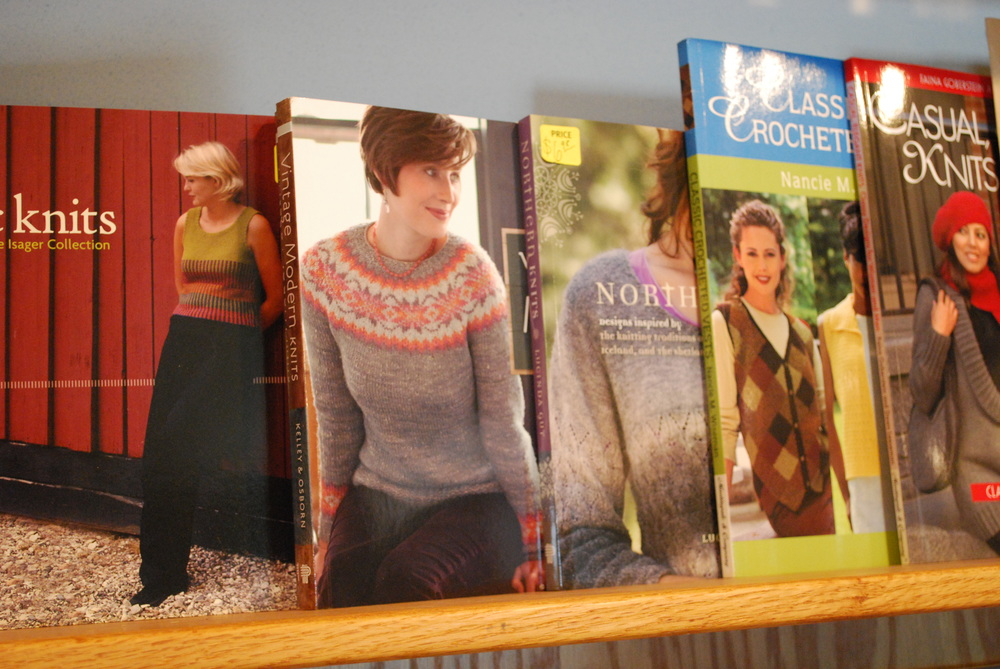 sale knitting books