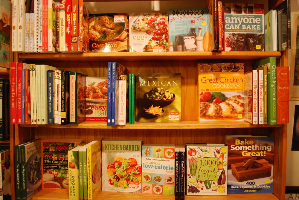 sale cookbooks