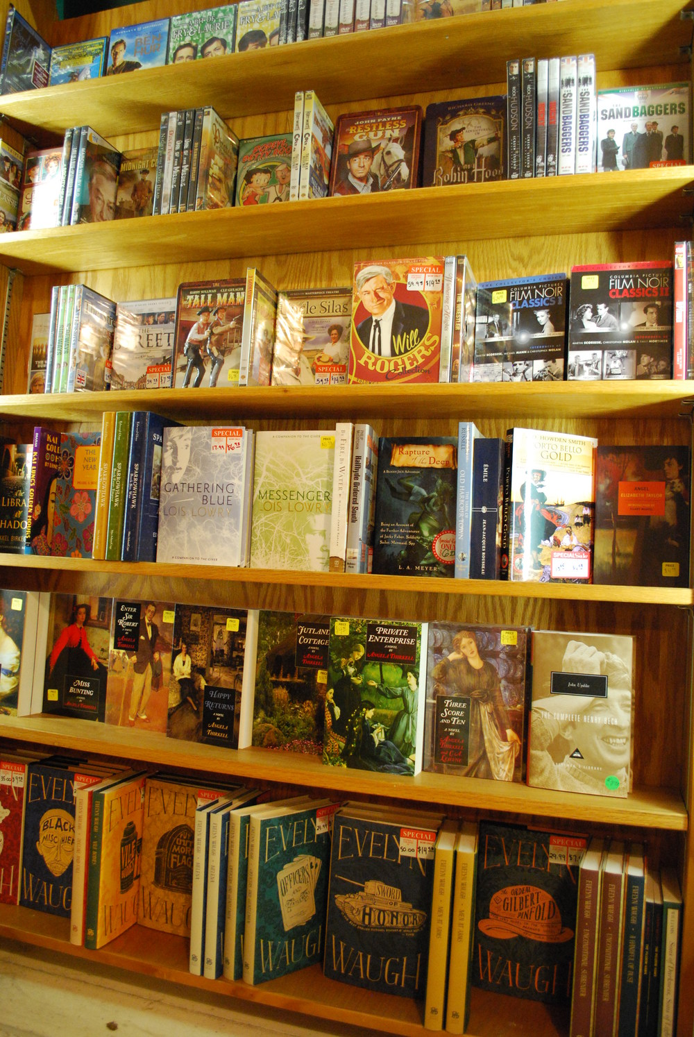 sale fiction and dvds