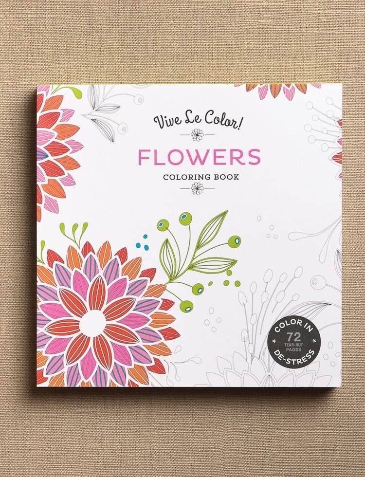 Arabia Coloring Book 995 Vive Flowers