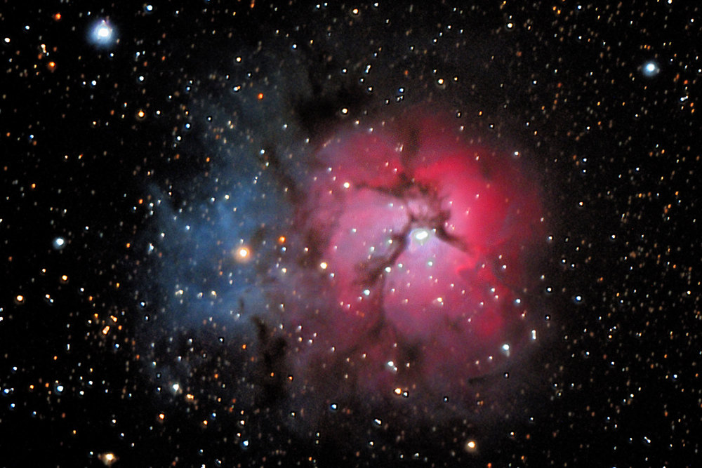 M20 – The Trifid Nebula