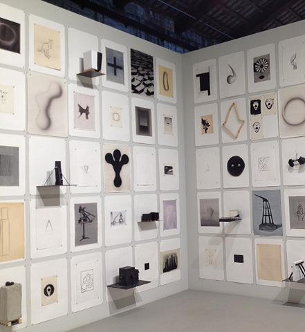 Marco Tirelli installation, Venice Biennale, 2013