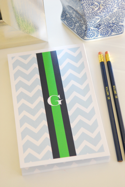 Notepad - Chevron bluebell.jpg