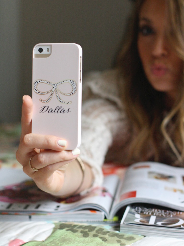 Pretty Smitten and Dallas Shaw iPhone Case