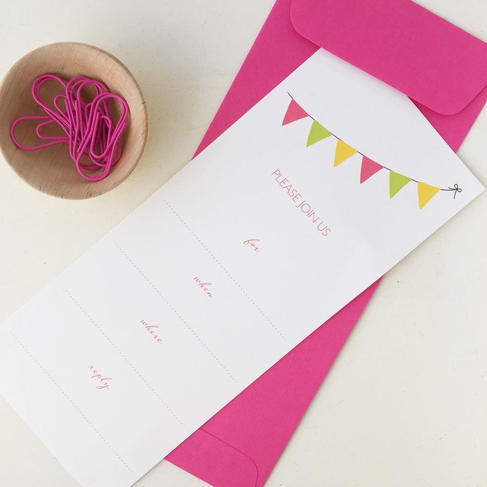 DelightedCo Banner Invitation - Free Printable