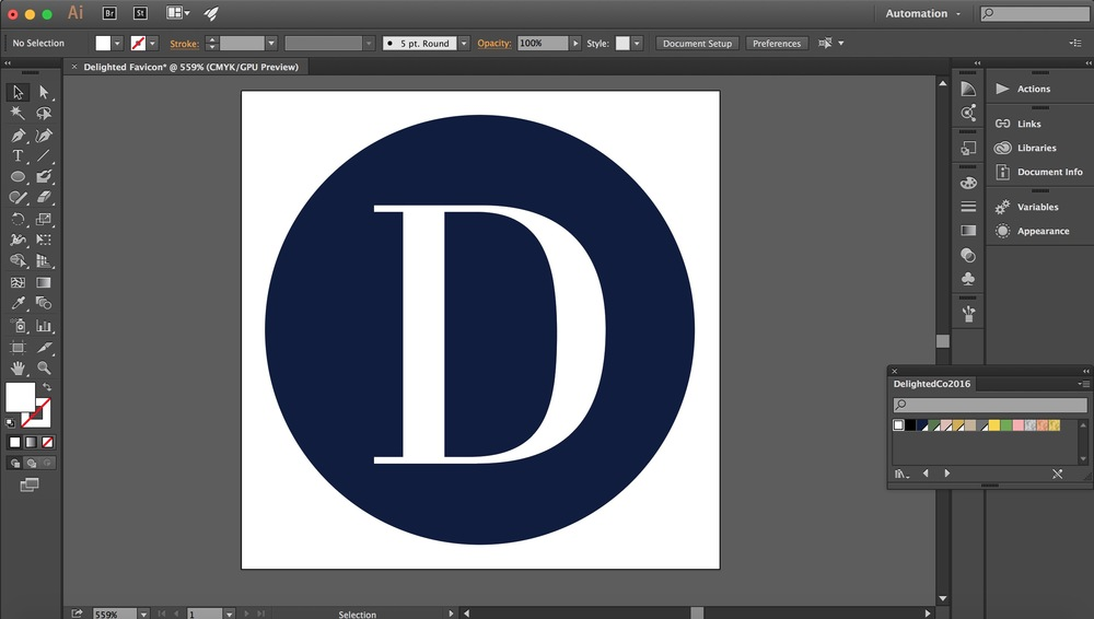 Create a Favicon for Your Squarespace Website | Tutorial by Delighted Creative Co @delightedco