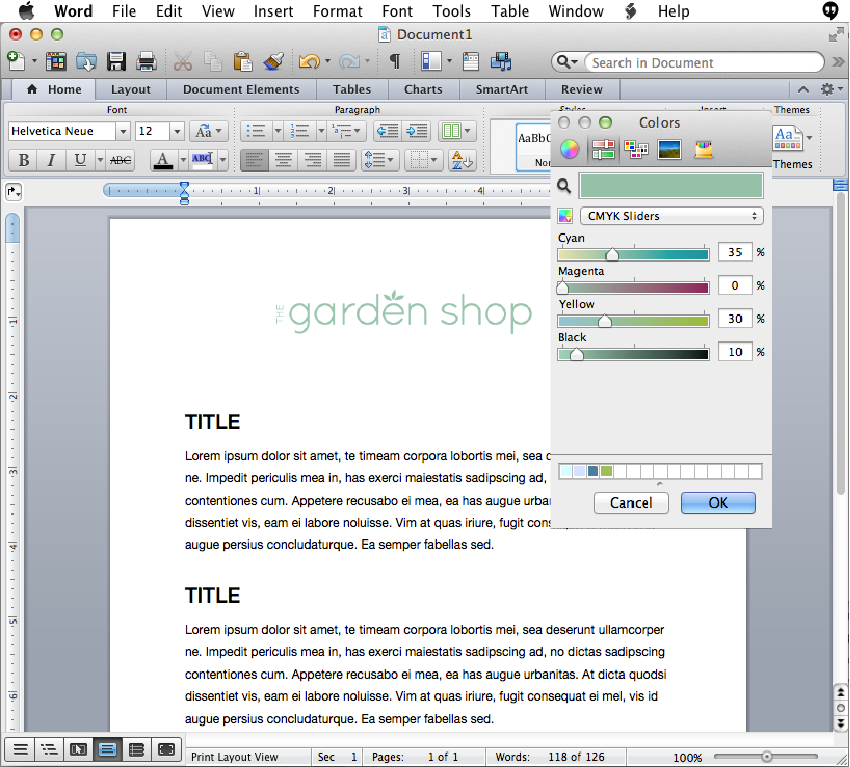 Using Brand Colors in Microsoft Office || Delighted Creative Co.