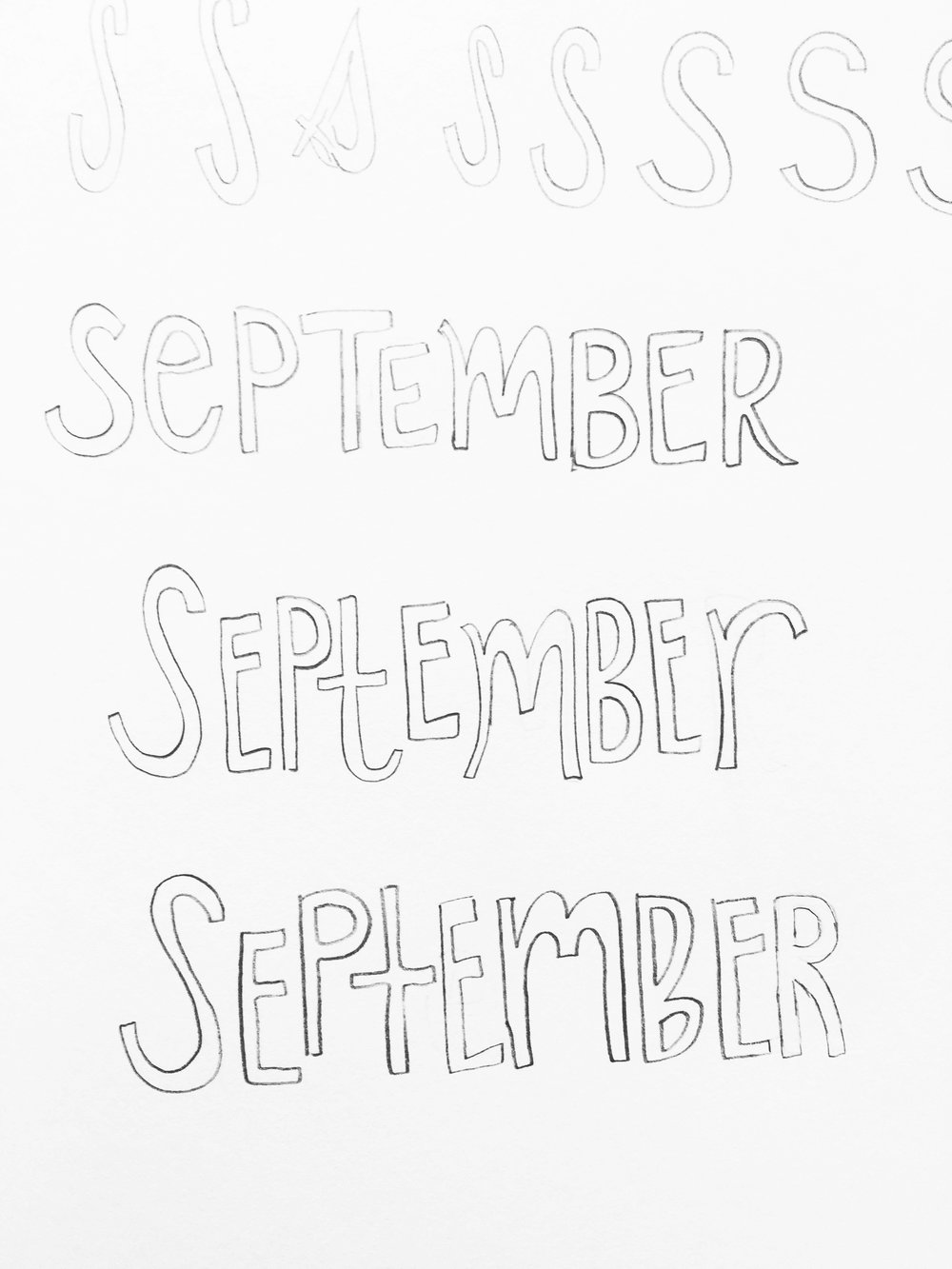 Amanda Gomes Hand Lettering Practice • www.delightedco.com