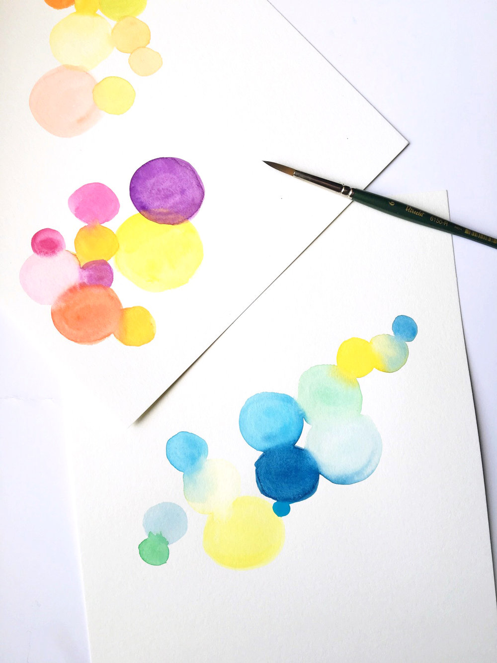 What I'm Learning: How to Watercolor | Amanda Gomes • delightedco.com