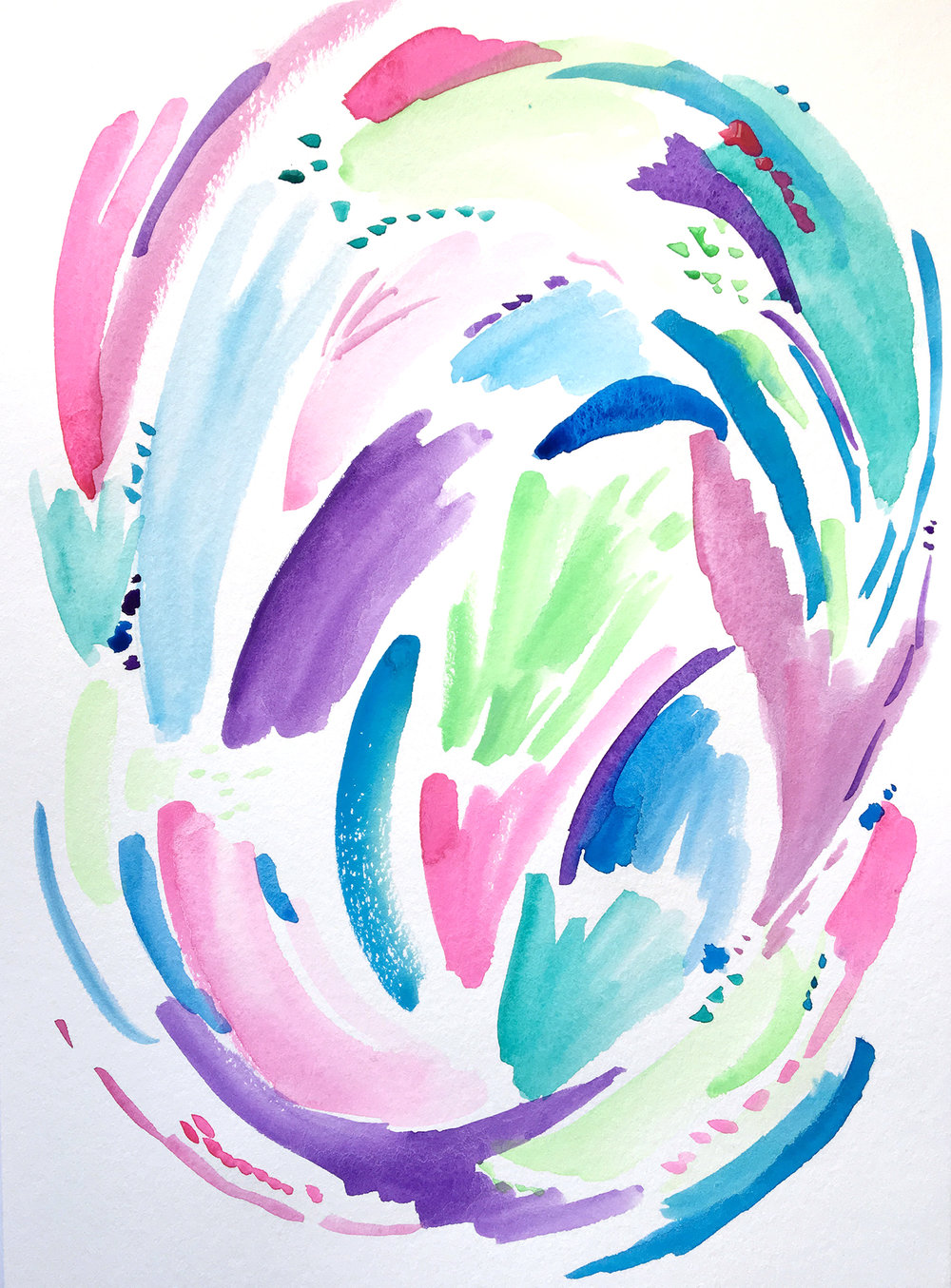 What I'm Learning about Watercolor | Amanda Gomes • delightedco.com