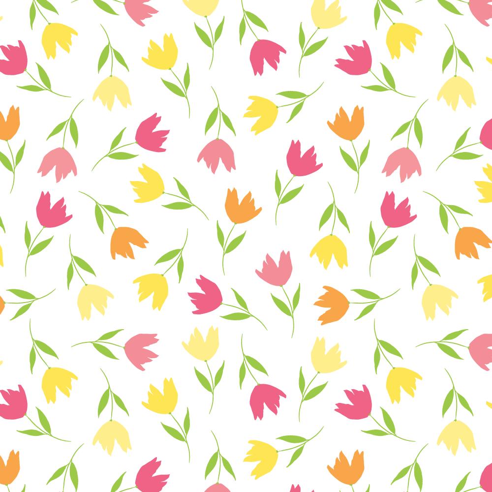 Floral Pattern • design by Amanda Gomes | delightedco.com