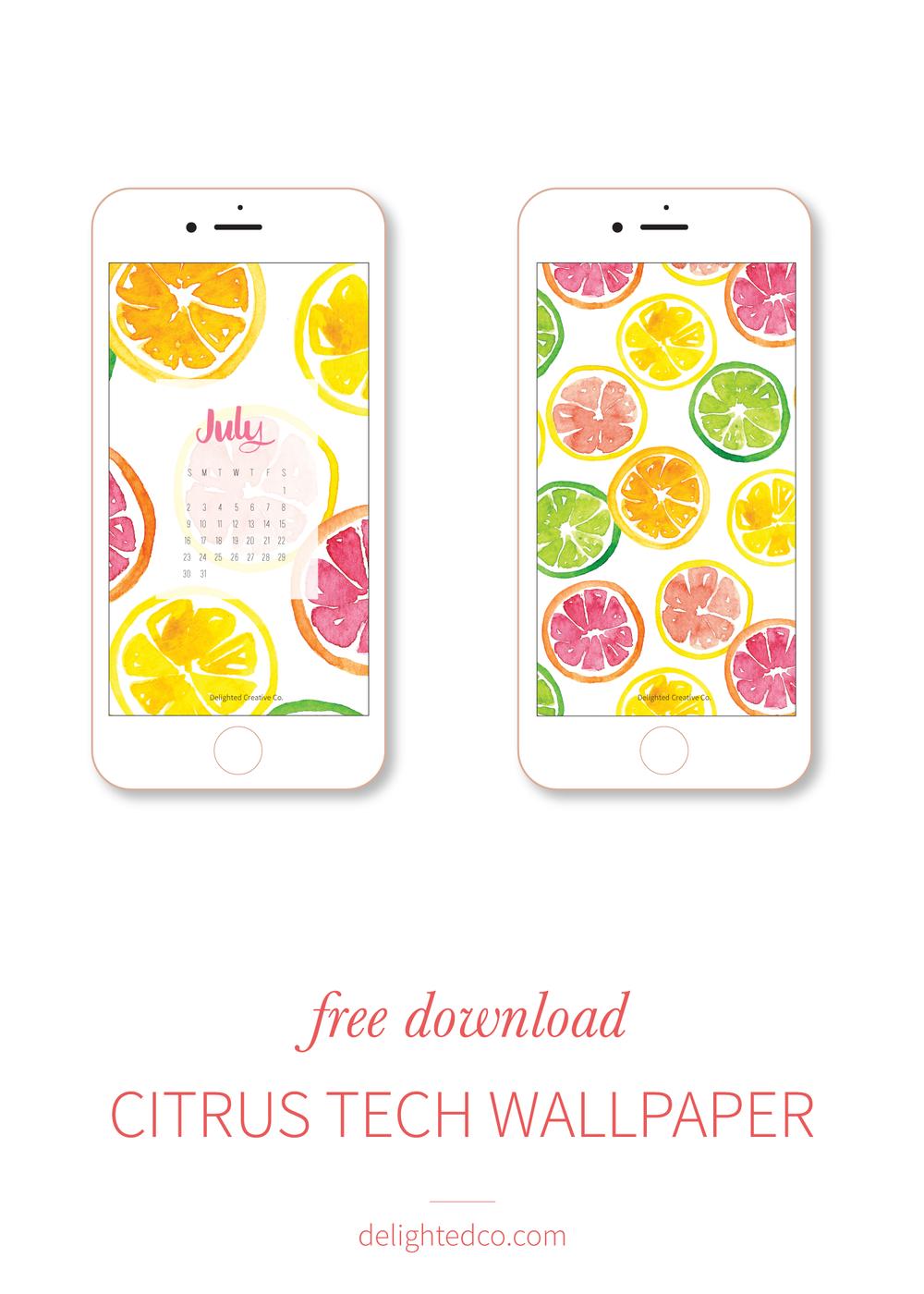 Happy tech wallpaper: free download at delightedco.com