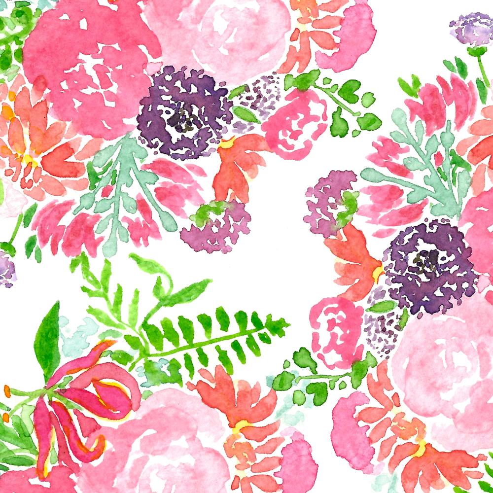 Florals •Surface Pattern ©Amanda Gomes • delightedco.com