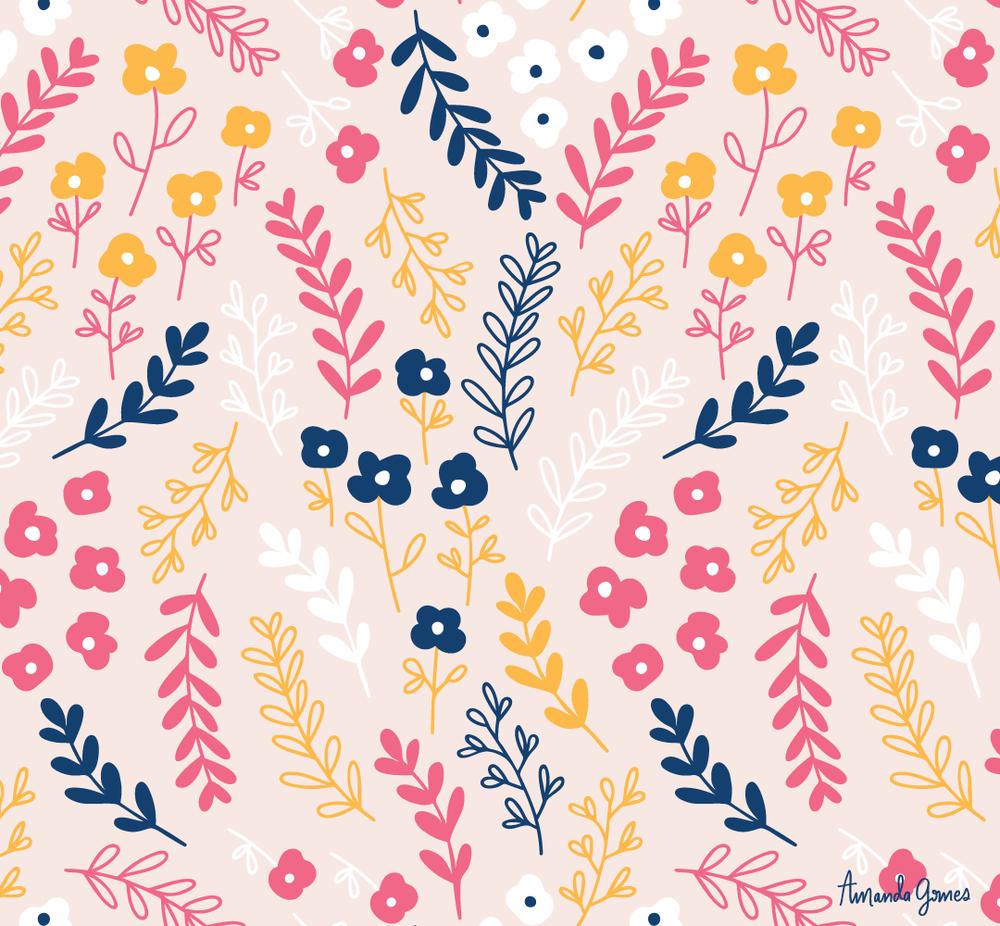 Surface Pattern ©Amanda Gomes • delightedco.com