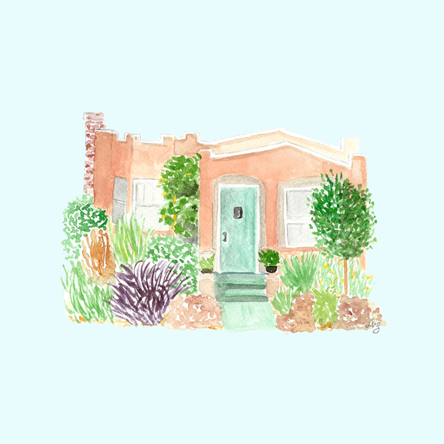 Home Illustration • ©Amanda Gomes • delightedco.com
