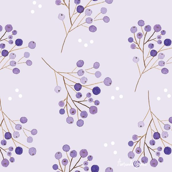 ©Amanda Gomes • surface pattern design • delightedco.com