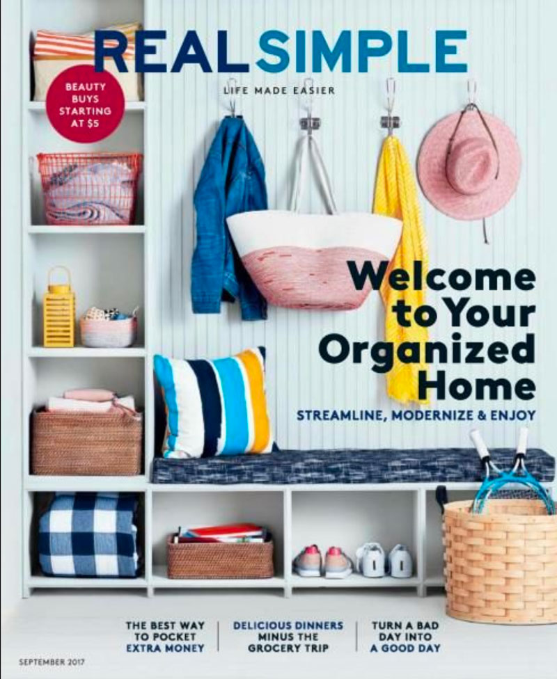 Real Simple Magazine Cover Sept 2017