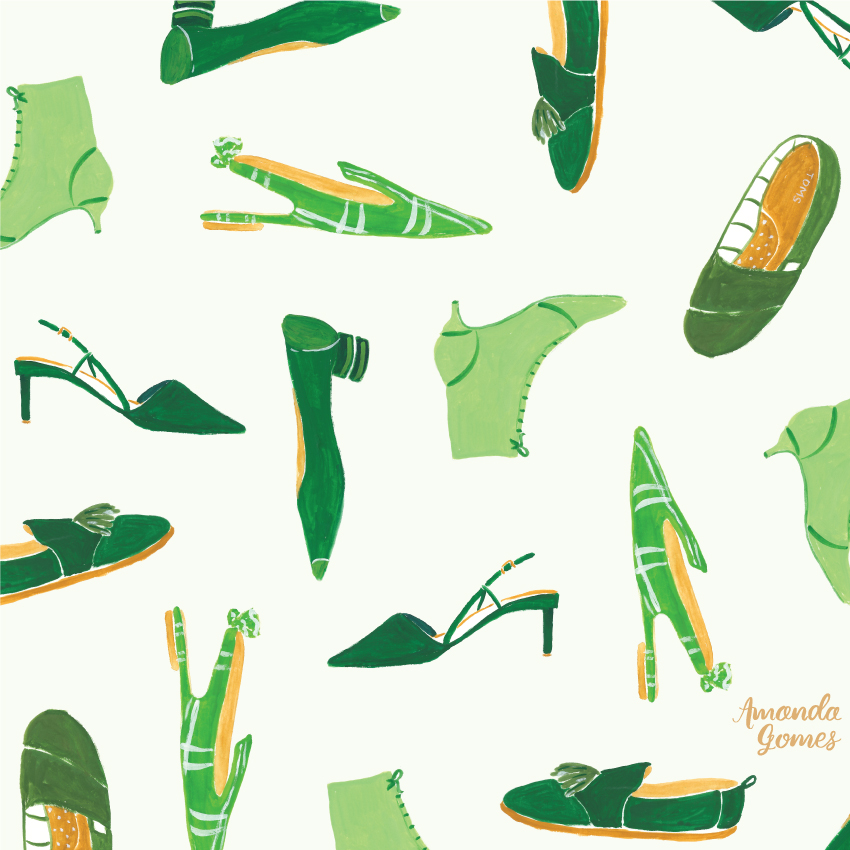 Amanda Gomes Surface Pattern Design + Illustration with Gouache
