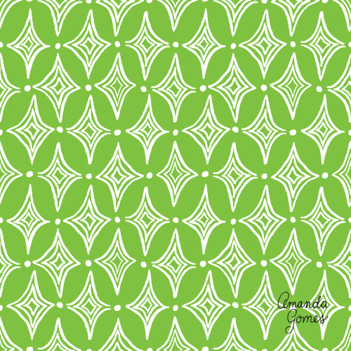 Amanda Gomes Surface Pattern Design #geometricpattern #surfacepatterndesign #surfaceart #gouache