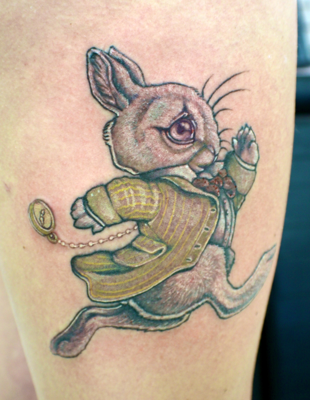 white rabit tattoo