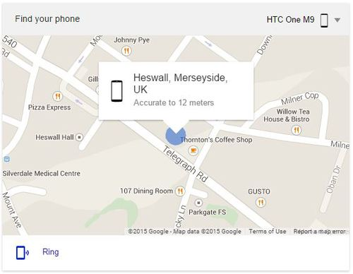 fone care Heswall | Lost phone? Track it down with a Google search