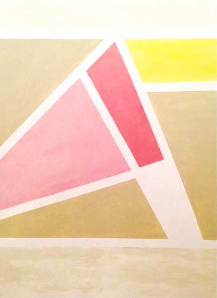 """Acrylic on canvas; 32""""x48"""""""