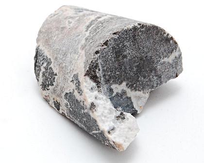Rock core sample