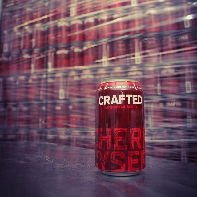 Wow...we are so excited about The Upside Down Cake release this weekend that we almost forgot about another release happening this weekend.  Cherry Cyser cans!! Woot!  We'll be filling up a whole bunch of these awesome looking cans tomorrow so they'll be ready for you on Saturday.  We learned a lot on our last Raspberry release and we're super stoked for this next canned released that we expect will be a fixture in our lineup going forward.  This will see a little wider distro than the last release hitting in Ohio, Florida, Indiana, Georgia, North Carolina and South Carolina.  Dang...we need to keep better track of all the innovation/new meads going on around here. #innovationproblems #modernmead #craftmead #meadisnotcider